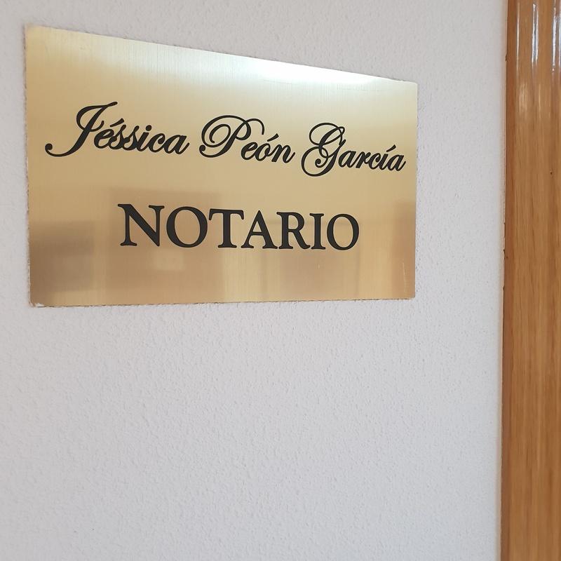 Servicios especializados: Especialidades de Notaría Dª Jéssica Peón García
