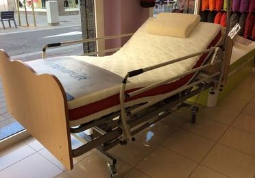 Conjunto cama geriatrica