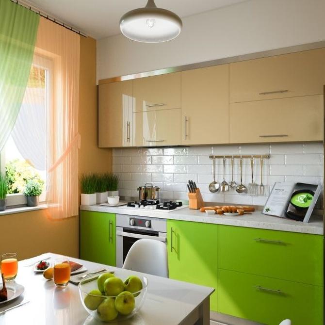Ahorra dinero pintando tu cocina y tu baño