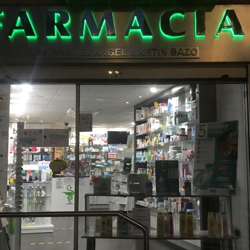Farmacia Miguel Ángel Martín Bazo