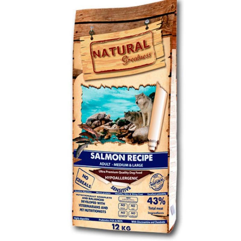 Natural greatness salmón: Servicios Veterinarios de Kan's&co Clínica Veterinària