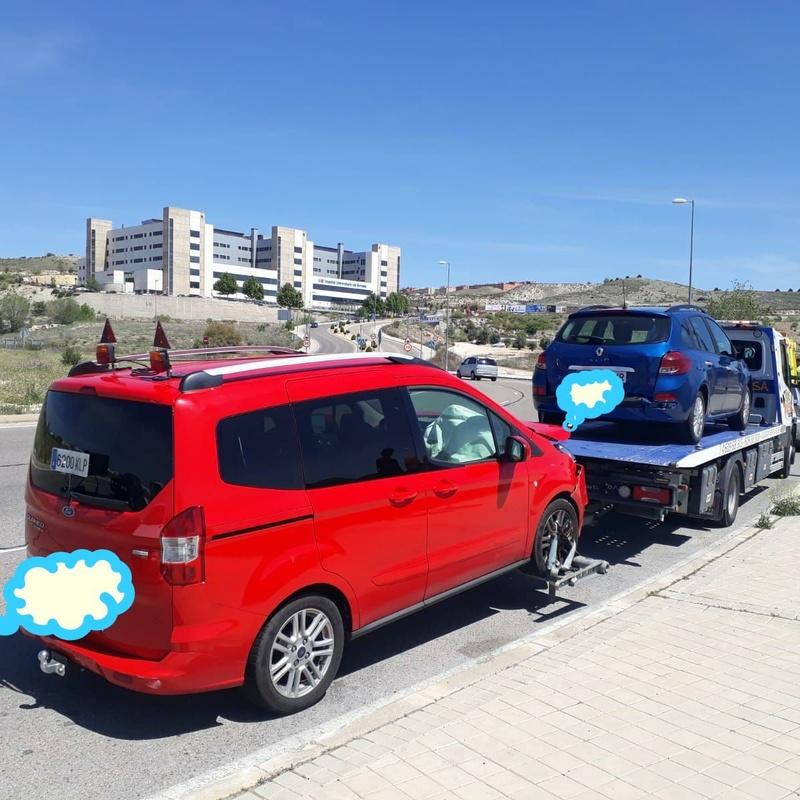 Servicios a furgonetas y furgones sobredimensionados: Productos y Servicios de ÁNGEL MUÑOZ SACEDA