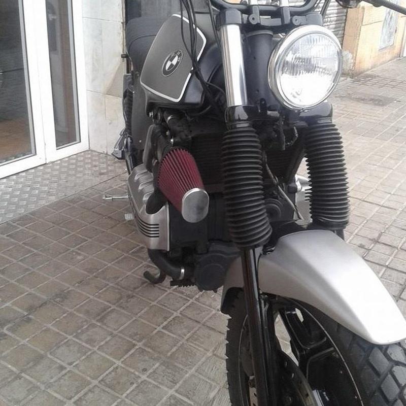 personalizacion bmw,personalizacion motos en valencia,transformacion motos,bmwk75,scrambler