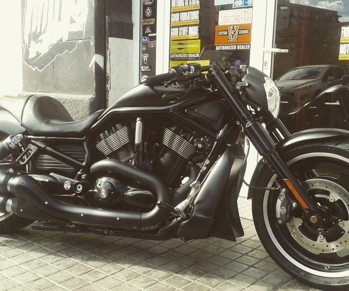 transformación vrod, transformación harley davidson, customizar motos , personalizar motos, venta motos custom, harley davidson