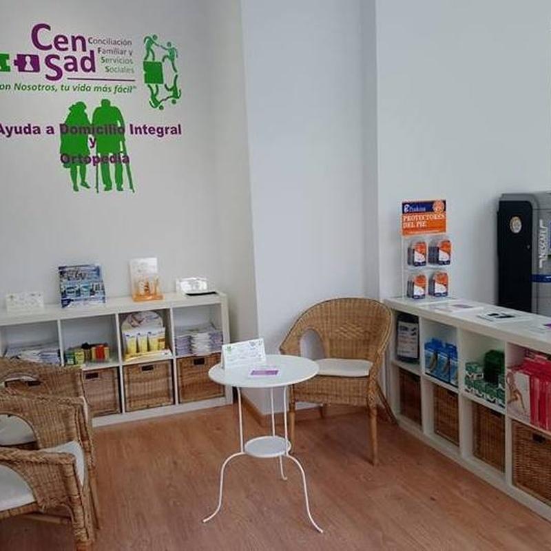 Ayuda a domicilio: Servicios sociales de CenSad Conciliación familiar y Servicios sociales