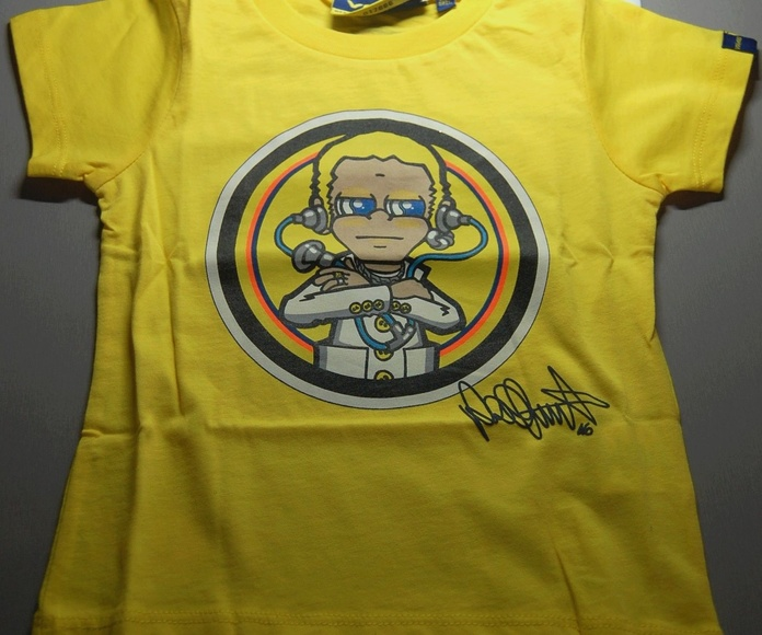Camiseta Valentino Rossi niño: Catálogo de QUINIMOTOS