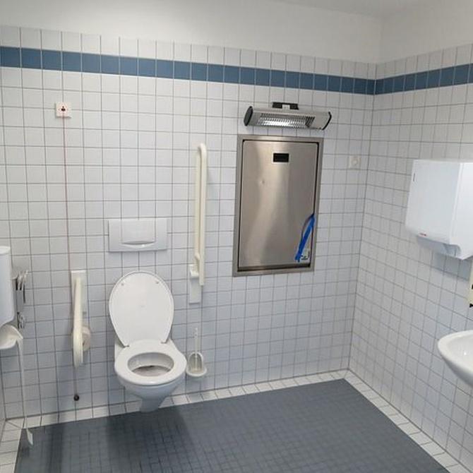Reformar baño cambiando los sanitarios de lugar