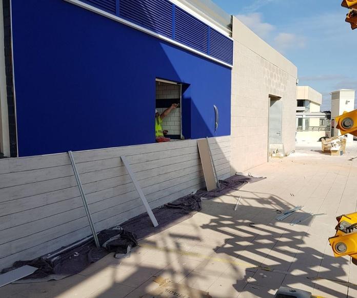 Acabando las obras en Las Palmas de Gran Canaria