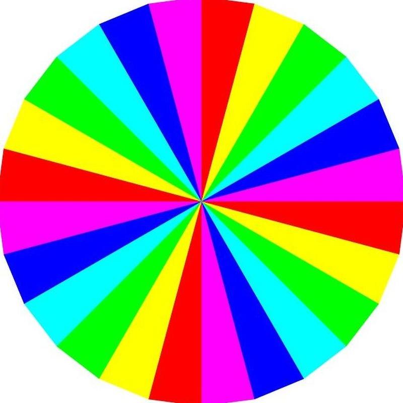 Características de los colores según la cromoterapia: Servicios de Centro Om Zentroa