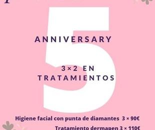 Aniversario 5 Años
