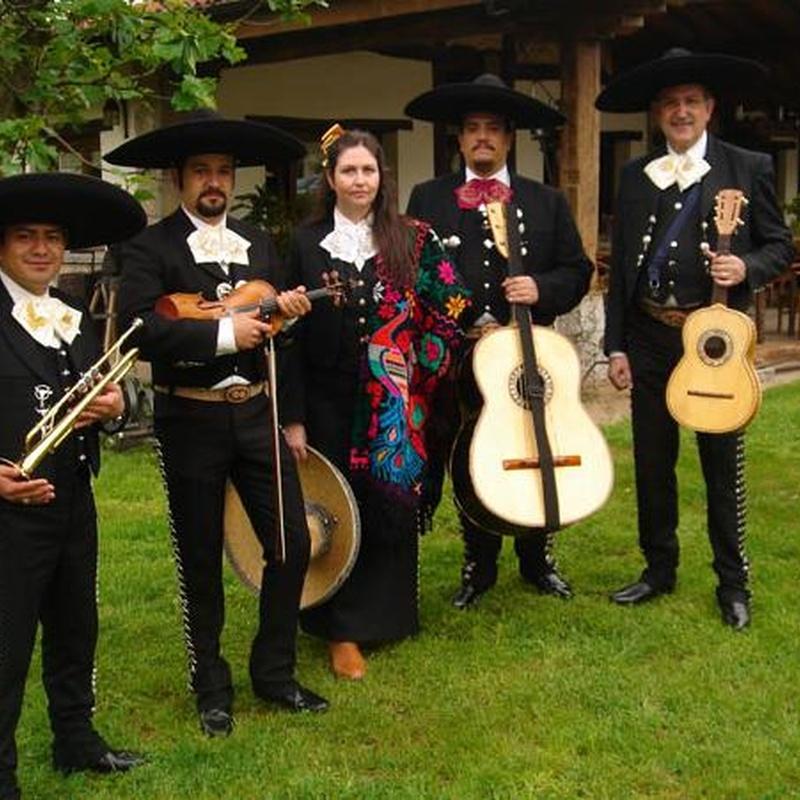 Mariachis: Repertorio musical de Mariachi Fiesta Ranchera