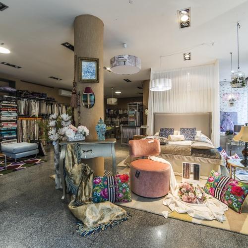 Todo tipo de tejidos para decoración textil en Tudela