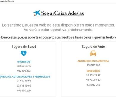 SegurCaixa Adeslas sufre un potente ciberataque