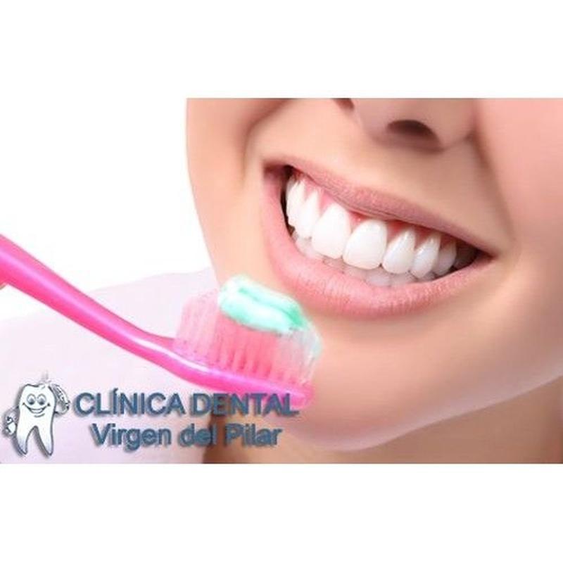 Odontología conservadora: Tratamientos de Clínica Dental Virgen del Pilar