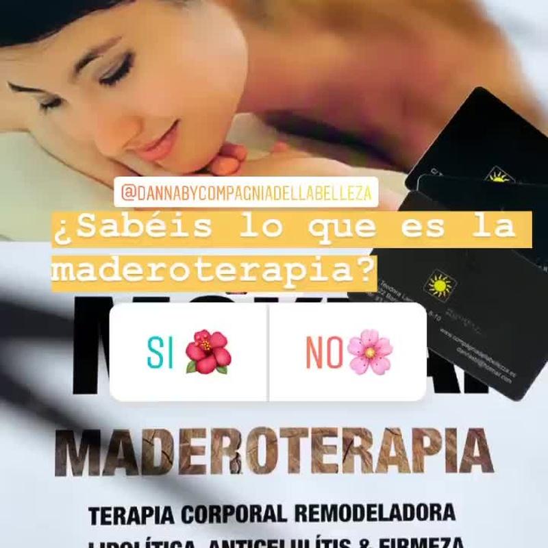 Masaje de maderoterapia: Peluquería y estética de Danna Stils by Compagnia della Bellezza