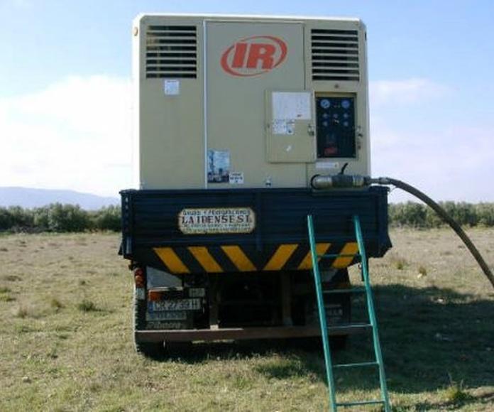 Aforo de Pozos : Servicios de Perforaciones La Ibense