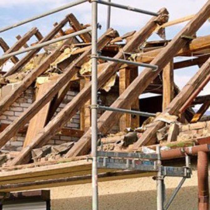 La reparación de tejados siempre con profesionales