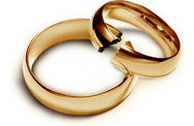 Las demandas de disolución matrimonial aumentan un 2,4% en el segundo trimestre de 2014.