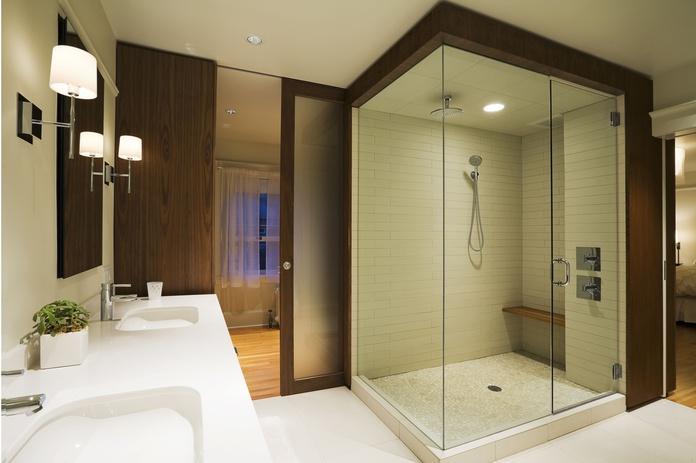 Mamparas de baño: Servicios de Carpintería de Aluminio Puga Santos