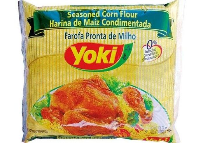 Farofa pronta de maíz Yoki: PRODUCTOS de La Cabaña 5 continentes