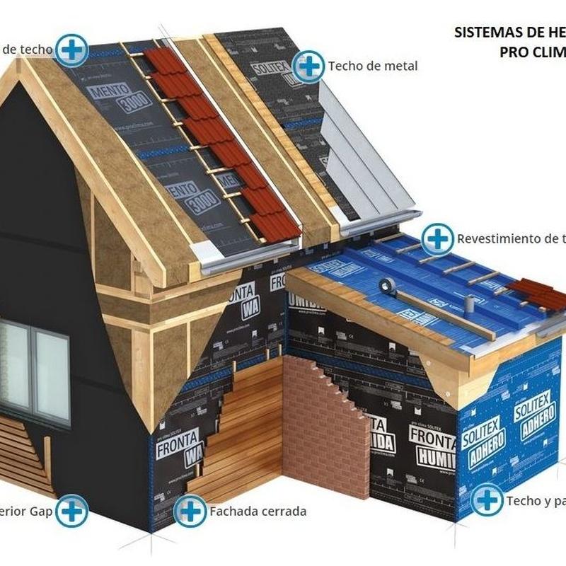 Sistemas de Hermeticidad Pro-clima: Productos de Madertac