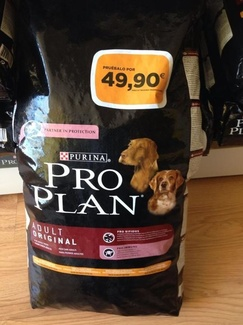 Oferta Pro Plan Adult Original 12 Kg.