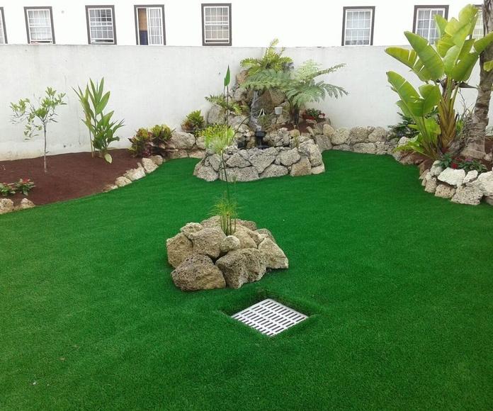 Césped Artificial: Productos y Servicios de Islas Jardín, S.L.