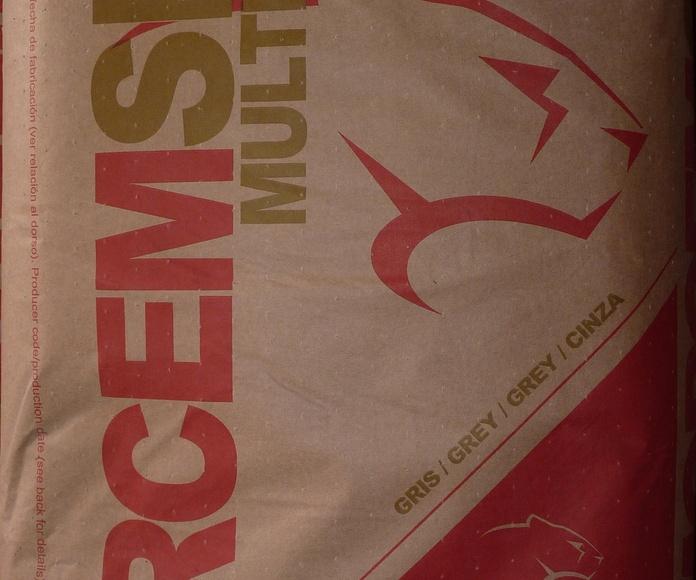 Mortero seco M 5 Puma: Catálogo de Materiales de Construcción J. B.