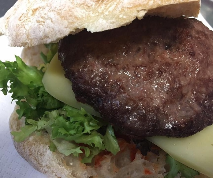 Hamburguesas de cordero: Carta de Restaurante Bar Carpanta