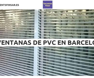 Ventanas de PVC en Barcelona