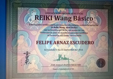 Reiki Wang, 1º Nivel