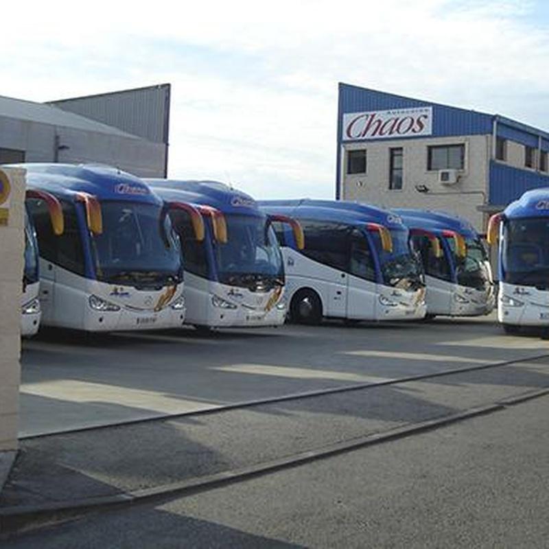 Autocares Chaos, S.A. - Alquiler de minibuses