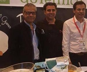 El concejal de Turismo de El Barco de Ávila y Emilio Jiménez en El Salón Gourmets