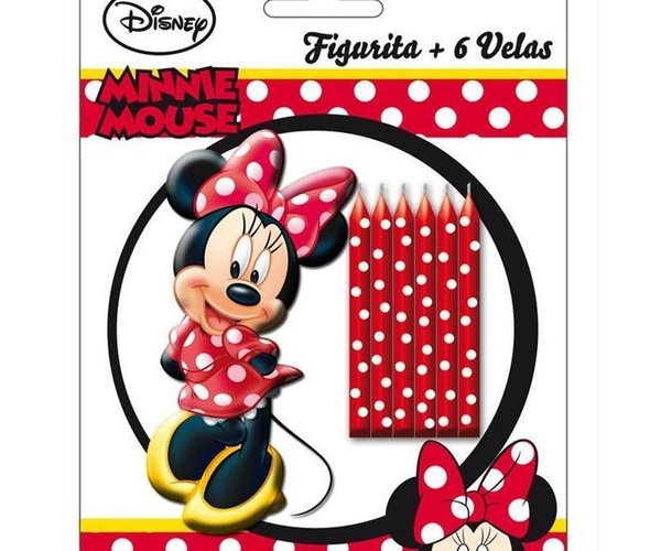 Velas de cumpleaños de personajes Disney