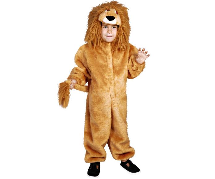 Disfraz león melena