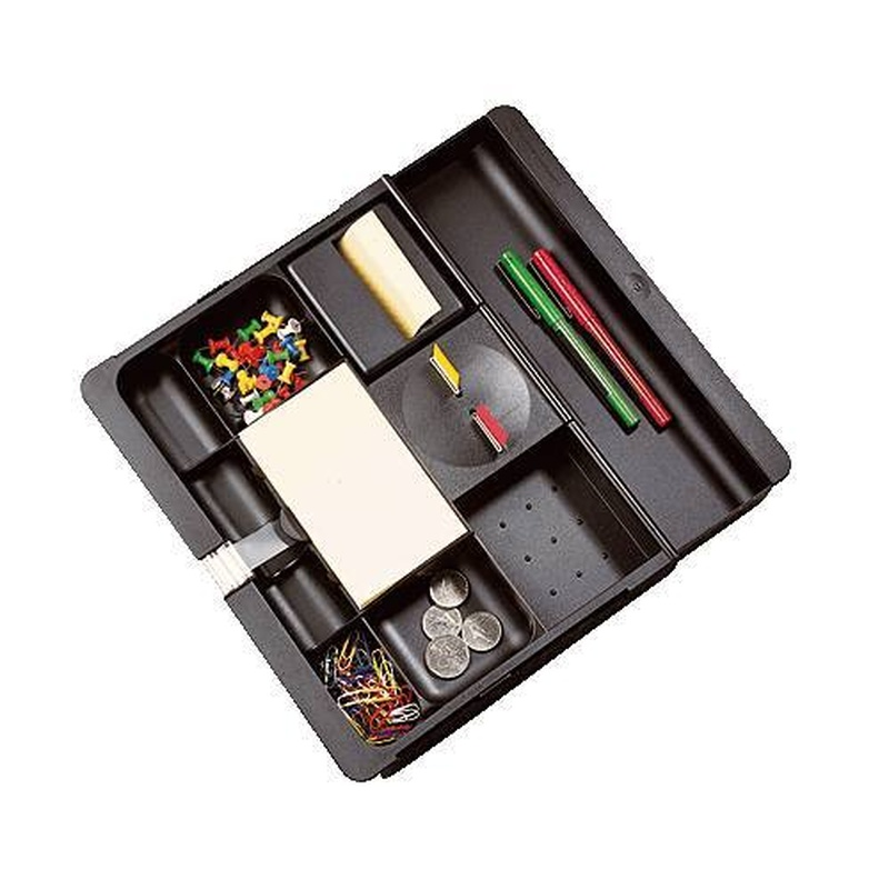 3M Organizador cajón C71 Poliestiro Negro  REF C-71: Tienda On-line de Papelería La Creativa