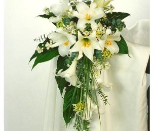 ramo de novia caida