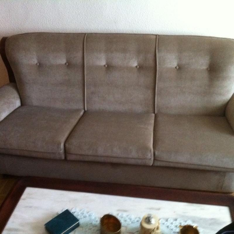 sofa restaurado