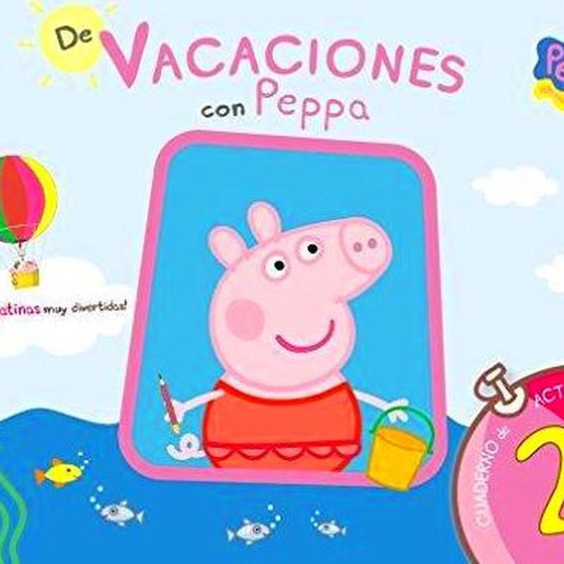 De vacaciones con Peppa.Cuaderno de vacaciones 2 años 9788437281186