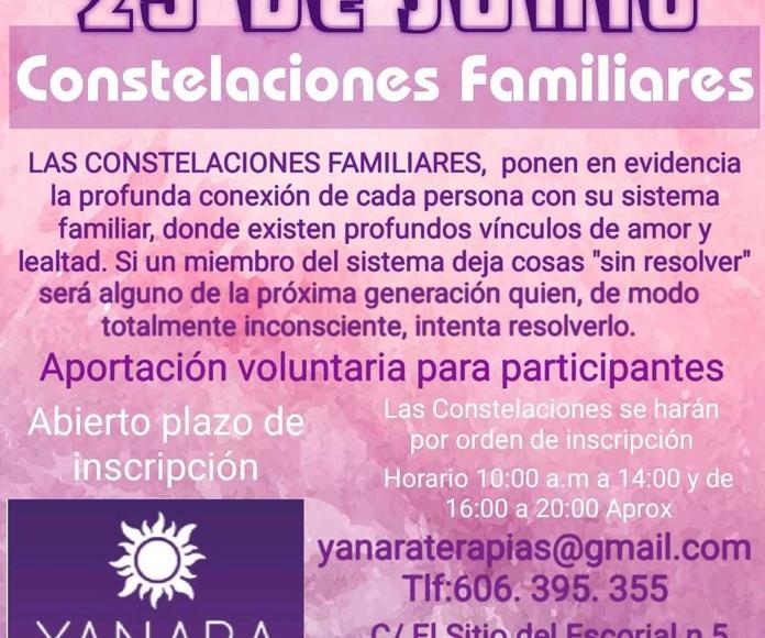Constelaciones familiares Madrid Carabanchel Aluche