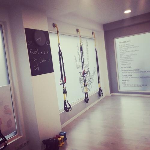 Pilates y TRX