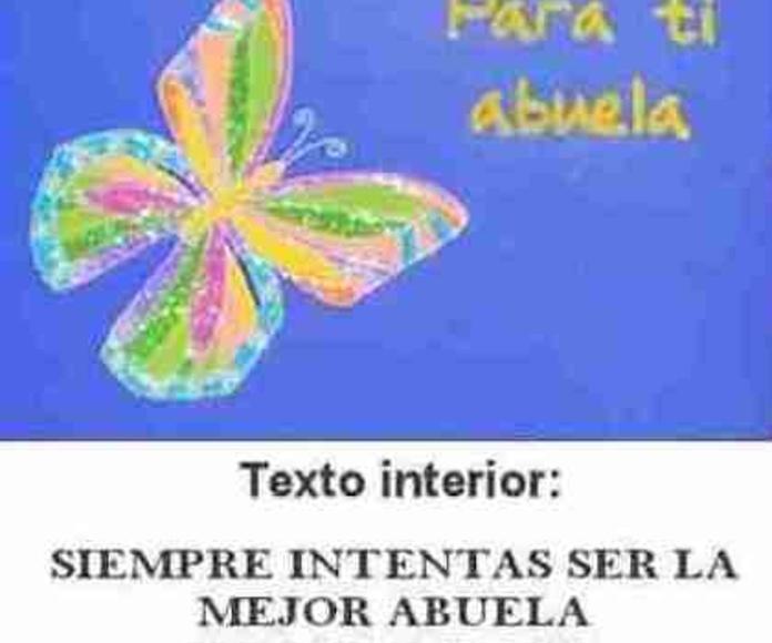 Tarjeta dedicatoria: Catálogo de Regalos de Floresdalia.com