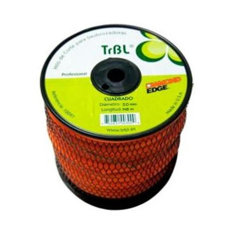 NYLON TRBL CUADRADO 3,9 mm - 86 metros Código: 0010099: Productos y servicios de Maquiagri