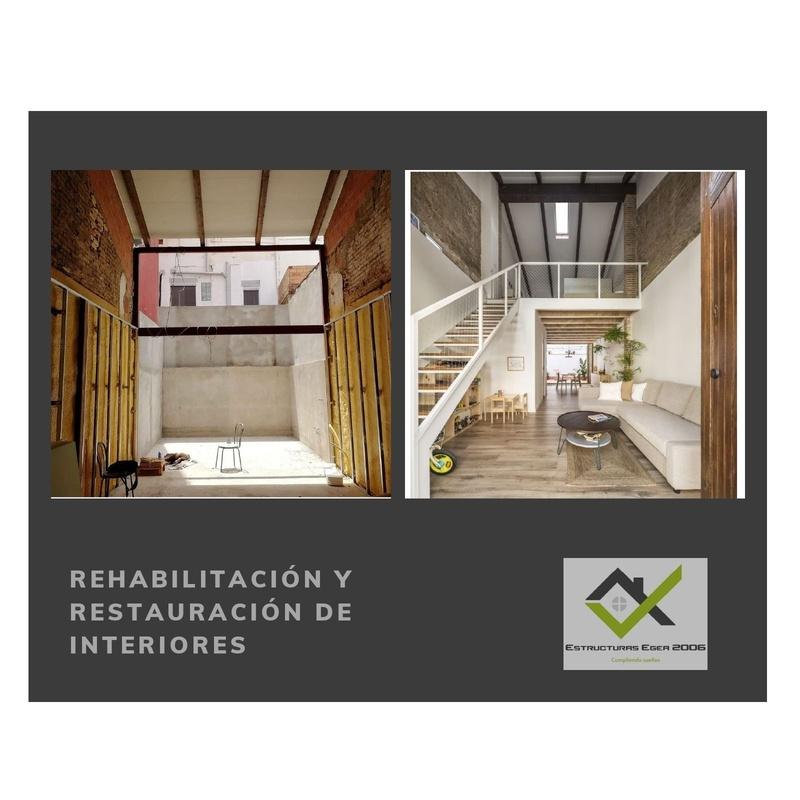 Rehabilitación y restauración de interiores: Servicios  de Estructuras Egea