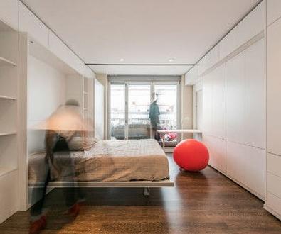 Ideas de decoración: muebles 'mutantes' o cómo sacar espacio de donde no lo hay