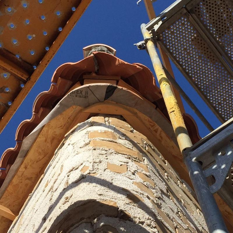 canalón de zinc en Malaga
