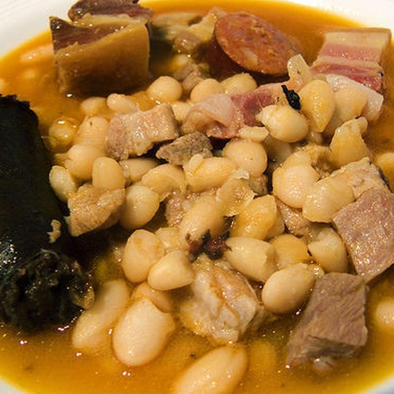Platos de cuchara de lunes a viernes: Menús, carta y especialidades de Anta
