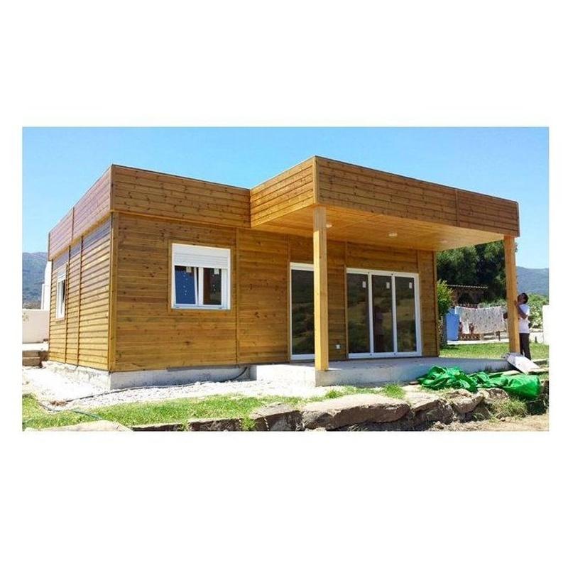 Martina (64 m2): Casas de madera de 5SCC Casas de Madera