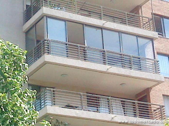 Cierre de galeria para balcones y terrazas: Productos y servicios de Metal Masa, S.L.