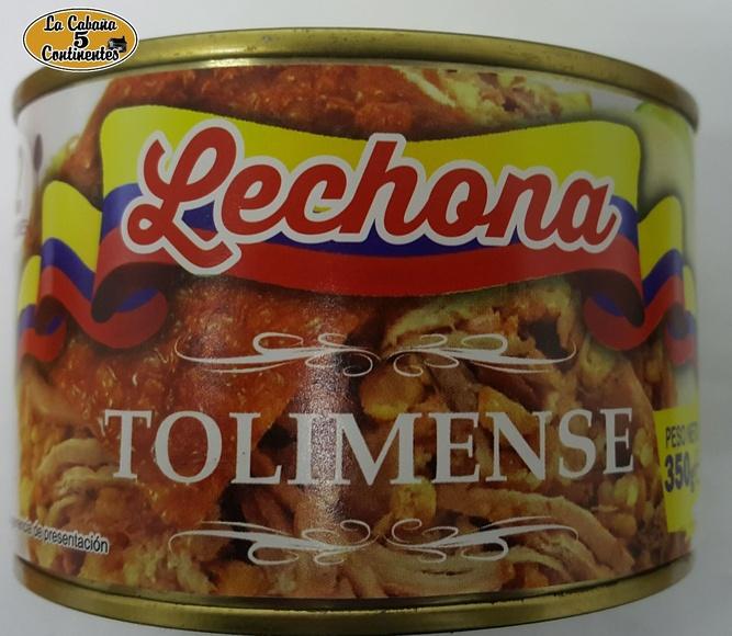 LECHONA TOLIMENSE 350GR: PRODUCTOS de La Cabaña 5 continentes